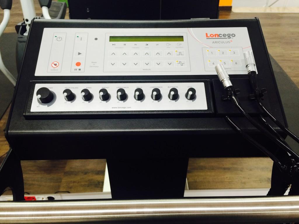 Máquina Loncego In Time BCN Fitness Electroestimulación en Barcelona