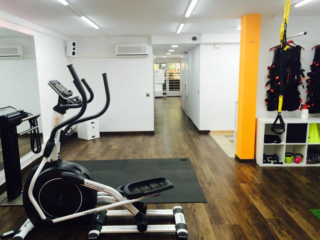 Salón In Time BCN Fitness Electroestimulación en Barcelona