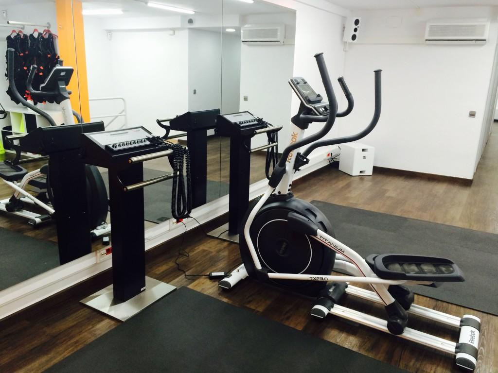 Máquina In Time BCN Fitness Electroestimulación en Barcelona