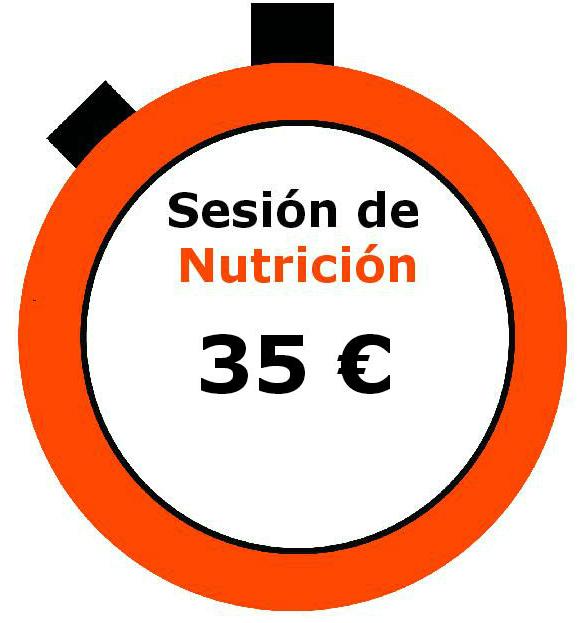 Sesión de nutrición In Time centro de Electroestimulación Barcelona