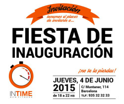 Inauguración In Time BCN Fitness