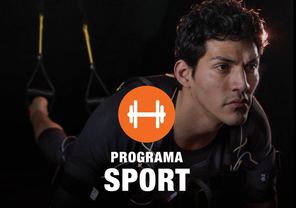 Programa Sport In Time BCN de Electroestimulación