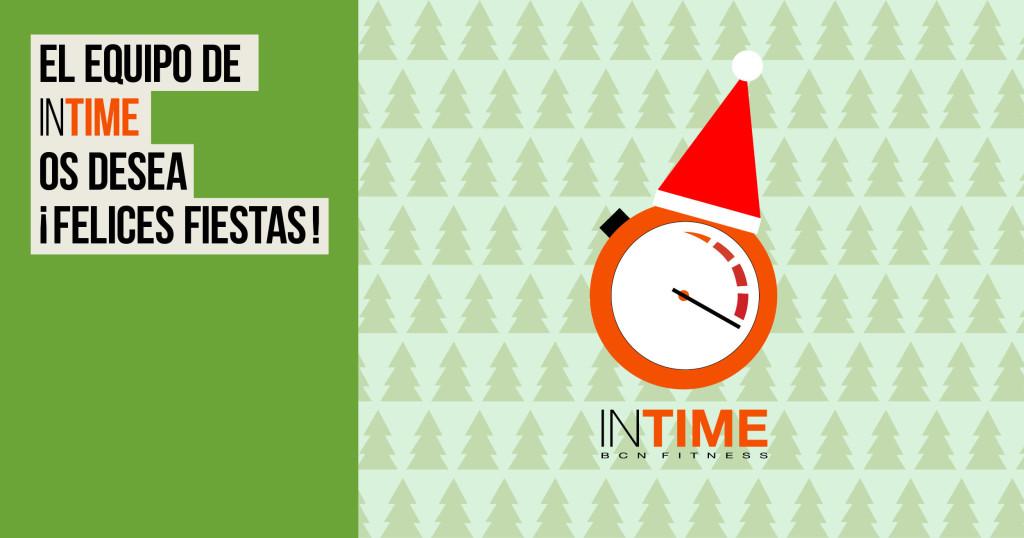 Felices Fiestas! In Time BCN Fitness