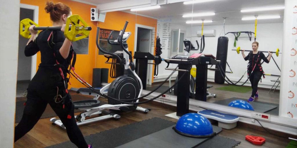 entrenar fuerza en Intime BCN